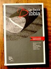 Italian Language Bible Large Print, La Sacra Bibbia, NRV Hardcover, Rock