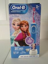 Oral B Disney Frozen Kids Rechargeable Toothbrush  New