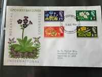International Botanical Congress FDC 5 August 1964 GPO First Day Cover London PM