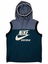 Nike Women's Sportswear Sleeveless Archive Hoodie Shirt Size M