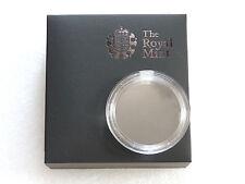 2008 - 2012 Royal Mint Britannia £2 Two Pound Silver Proof 1oz Coin Box Capsule