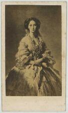 CDV 1860-70. L'Impératrice Maria Alexandrovna de Russie, d'après tableau.