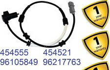 Peugeot 605 2.0 2.1 2.5 3.0 T D SV24 1989-99 Front R/L ABS Sensor 454555 4545.55