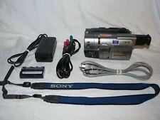 Sony PAL CCD-TRV37E PAL HI8 8mm Video8 Camcorder VCR Player Video Transfer