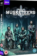 THE MUSKETEERS: SERIES THREE 3 - BBC DRAMA [DVD] NEW & SEALED