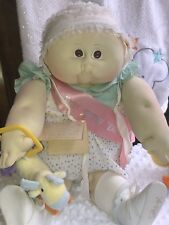1981 soft sculpture cabbage patch little people doll
