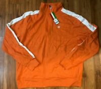 Mens Sergio Tacchini Track Jacket Orange SF8D3030 NWT $98