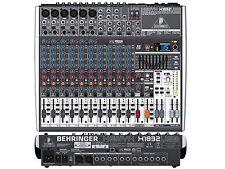 BEHRINGER Xenyx X1832USB MIXER 18 INGRESSI CON USB ED EFFETTI PER VOCE A 24 BIT