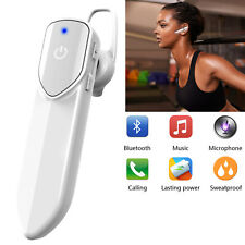 Universal Wireless Bluetooth Headset Super Long Talk Time for Samsung iphone Lg