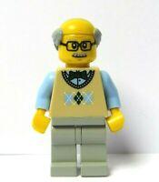LEGO Boy Male Man Minifigure Police Policeman Officer Constable Flesh Skin