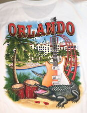 Hard Rock Hotel ORLANDO 2016 WHITE City Tee T-SHIRT S-2X ALL SIZE Mens New w/Tag