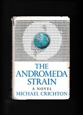 THE ANDROMEDA STRAIN---MICHAEL CRICHTON---HC/DJ---1969---ALFRED A. KNOPF