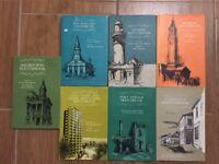 7 Australian Cities Sketchbooks Unk White - Melbourne Sydney Gold Coast Brisbane