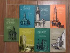 7 Australian Cities Sketchbooks Unk White - Melbourne Sydney Gold Coast Brisbane