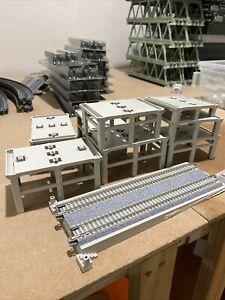 kato n scale unitrack Double Track Incline Pier Set