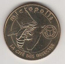 A 2013 TOKEN MEDAILLE MONNAIE DE PARIS -- 12 780 N°4 MICROPOLIS ABEILLE BEE
