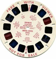 Vintage View-Master Reel - Picture Tour of United States Cities DR-45