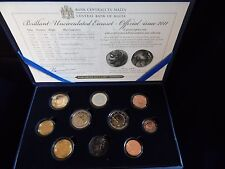 """Malta KMS 2011 im Etui mit 2 Euro Sondermünze """"Wahlrecht"""""""