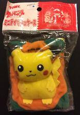 Pikachu Pocket Tissue Plush Case TOMY Pokemon Japan Import NEW SEALED RARE