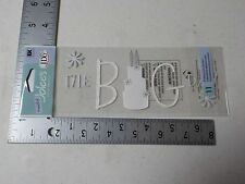 JOLEE'S BOUTIQUE THE BIG DAY WEDDING TITLE WAVES DIMENSIONAL STICKERS NEW A5312