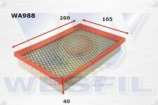 WESFIL AIR FILTER FOR Ford Probe 2.5L V6 1994-1998 WA988