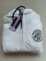 Jack Wills Hoodie Men's Hooded White Sweatshirt Classic Size M - Medium BNWT
