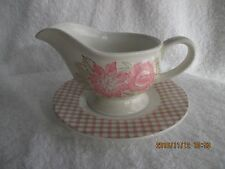 Serving Dishes Nautica Pink Sands Gravy Boat & Plate New in Box