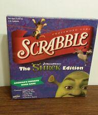 Scrabble Game -SHREK Edition -Hasbro 2007- Excel Condition!-President's Day Sale