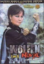 wolfen ninja 1 AND 2 -  Hong Kong RARE Kung Fu Martial Arts Action movie - NEW
