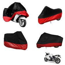 XL Motorcycle Waterproof Outdoor Indoor Motorbike Bike Cover Bag Red Black