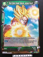 Carte Dragon Ball Super SON GOKU SUPER SAIYAN, ASSAU BT3-058 UC FOIL DBZ FR NEUF