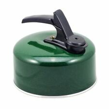 Pendeford Caravan Camping Whistling Kettle 1L Green