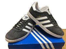 Mens Adidas Gazelle Trainers Size 7 Grey Hardly Worn