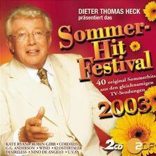 Sommer-Hit-Festival 2003 (ZDF, Dieter Thomas Heck, 40 Titel) Benny ('.... [2 CD]