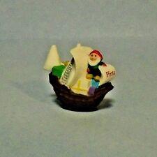 1992 Hallmark Merry Miniatures Santa's Pinta Ship