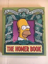 Simpsons Library of Wisdom: The Homer Book by Matt Groening (2004, Paperback)