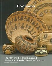 BONHAMS AMERICAN INDIAN ART Eskimo BASKETS Blaugrund Coll Two Catalogs in One 18