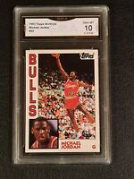 💥💥 GEM MINT 10 💥💥 1992 Topps Archives rookie MICHAEL JORDAN #52 PSA = $600+