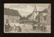 Germany HOCHST i ODENWALD Marktplatz 1908 PPC