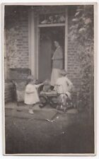 """Social History, """"Harry & Joyce At Home Farm""""  RP PPC, c 1920's, Unknown Location"""