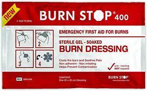 L@@K Burn Stop Burns Dressing |20cm x 20cm| Burnstop Wound Gel  !!