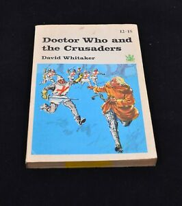 Vintage Book      Doctor Who and the Crusaders 1967 PB