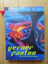 Verner Panton The Collected Works 2009 First ed with Mini Panton Chair SCARCE
