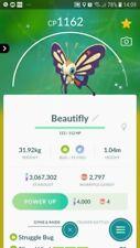 Shiny Beautifly ( Wurmple Evolution ) Trading Pokemon GO