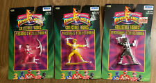 Power Rangers  3pk ( Yellow, Black, Pink) 1993