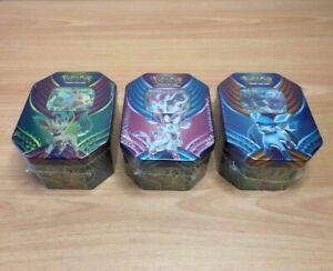 NEW Pokemon TCG: Evolutions Celebration Tin Art Set *FACTORY SEALED*