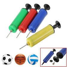 Ball Pump Air Inflator Soccer Basketball Football Yoga Needle Fitness Practical