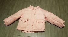 Gefütterte Jacke Kinder rosa Mädchen Gr 92 Winterjacke