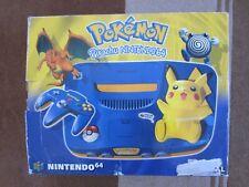 RARE Nintendo 64 (N64) Pokemon Pikachu Limited Edition PAL BOITE console NEUVE