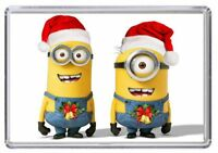 MINIONS Christmas Fridge Magnet